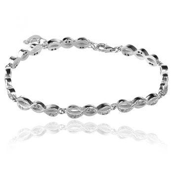 silver bracelet, сребърна гривна