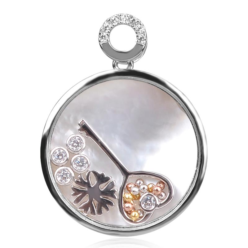 silver pendant, сребърен медальон, висулка, сребърна висулка