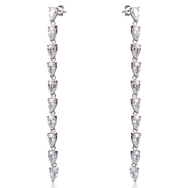 long silver earrings, дълги сребърни обеци