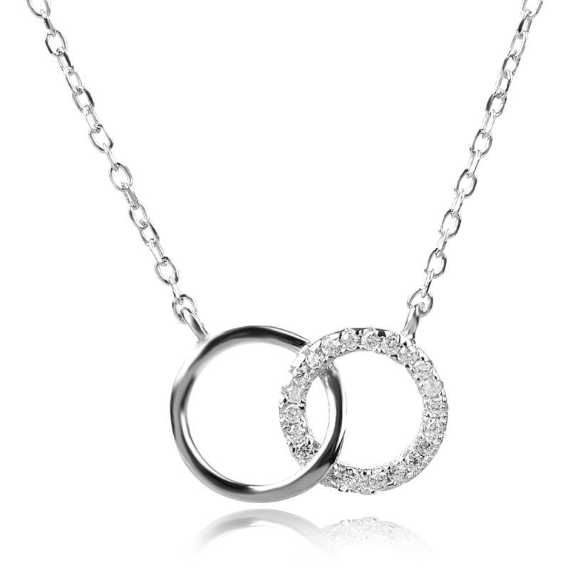 сребърно колие привързаност, silver necklace