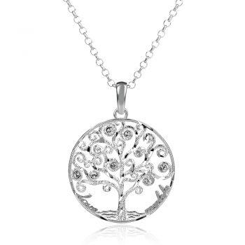сребърно колие дървото на живота