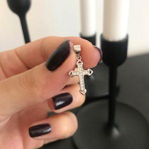 малък сребърен кръст