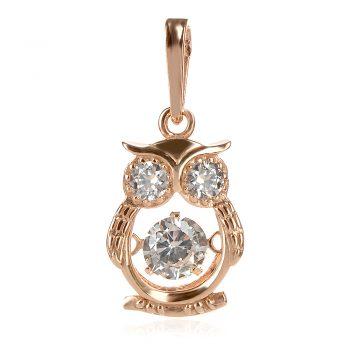 медальон с танцуващ камък