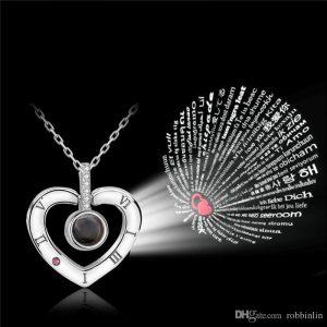I love you 100 езика медальон