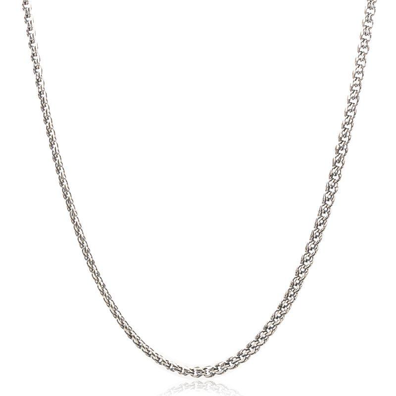 Мъжки сребърен синджир плетка Кардинал