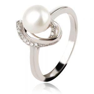 пръстен с перла
