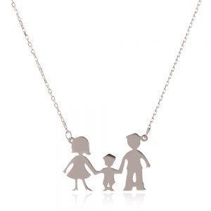 семейство майка, баща и син