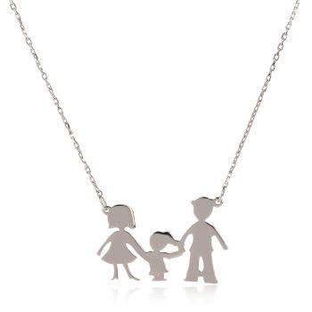 семейство майка, баща и дъщеря