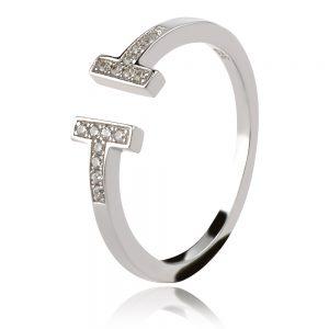 TT ring сребърен пръстен