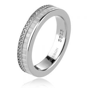 сребърен пръстен халка стил Boucheron