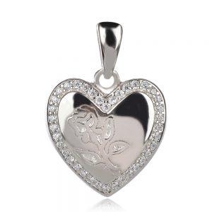 медальон за снимки сърце