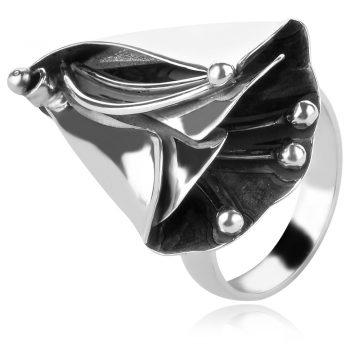 сребърен пръстен ръчна изработка