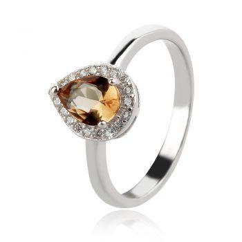сребърен пръстен със султанит