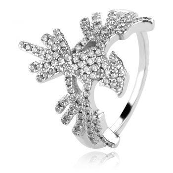 сребърен пръстен жар птица феникс